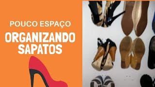 Como organizar sapatos com pouco espaço