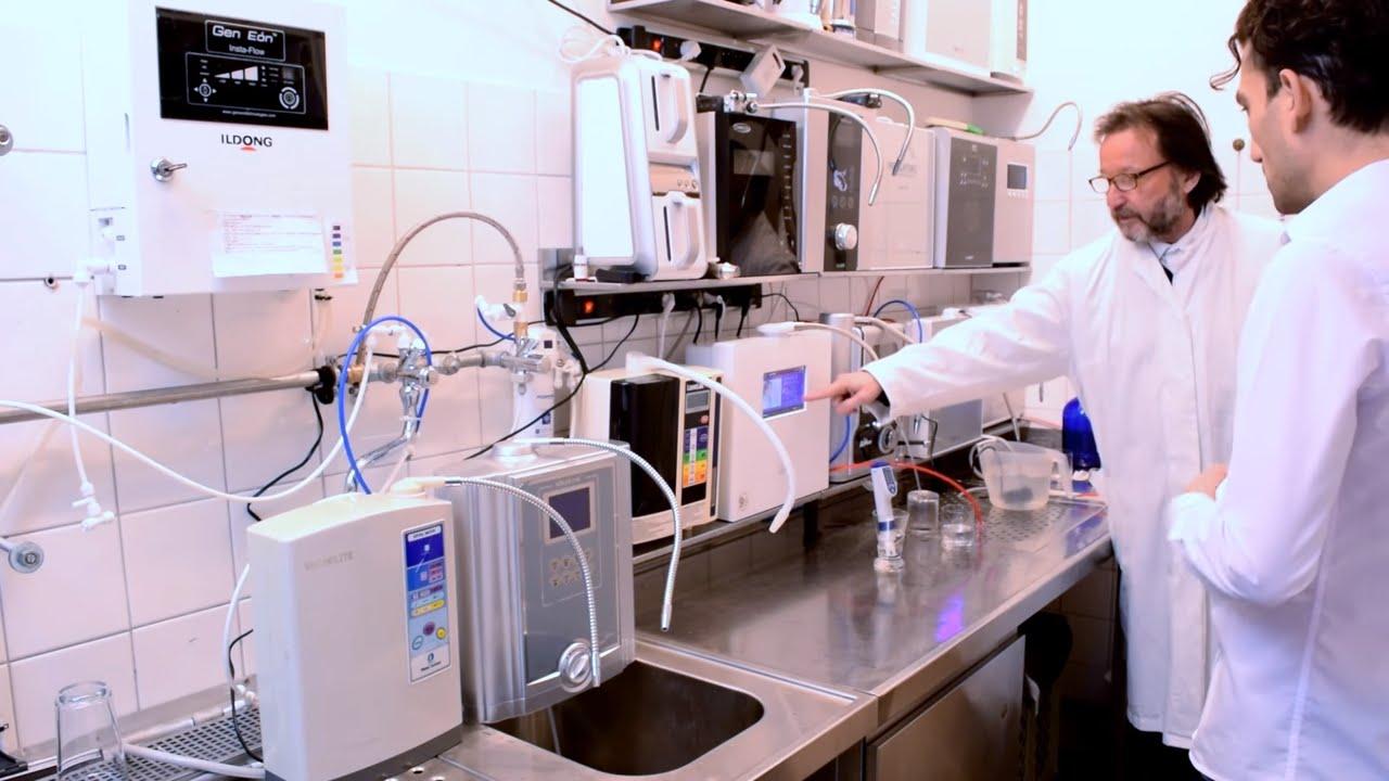 Wasserionisierer Test U0026 Installation | AquaVolta EOS TOUCH |  Wasserstoffwasser   YouTube