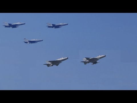 Sri Lanka Air Force Fly - Past during the 70th Independence Day Celebrations