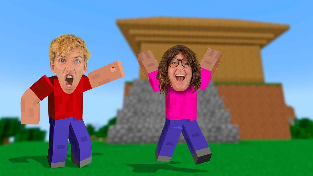 Download Ellen Mystery Neighbor Broke into my Minecraft House!! (She Trapped Me)