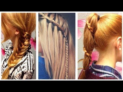3 s e flechtfrisuren braided hairstyles youtube. Black Bedroom Furniture Sets. Home Design Ideas