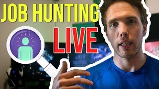 🔴Job Hunting With Viewers - NOW ON TWITCH | @joshuafluke everywhere