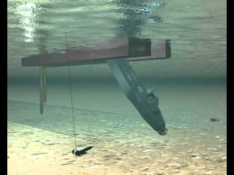 Animation of an IHC 8527 MP cutter dredge