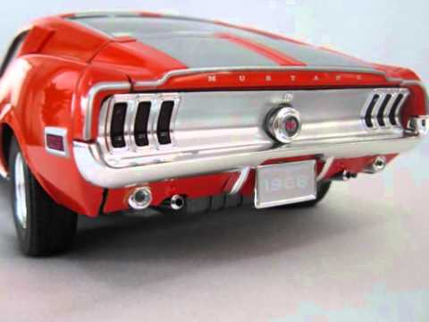Video Mustang Gt Fastback 1968 Youtube