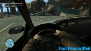 GTA 4 - First Person Mod installieren [HD - Deutsch]