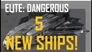 Elite Dangerous - 5 NEW SHIPS!? - Future updates & Information
