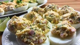 ТОП-5 идей начинок для фаршированных яиц