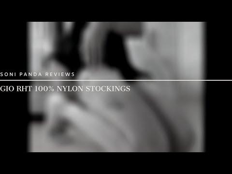 Getting Ready: Gio Reinforced Heel & Toe 100% Nylon Stockings