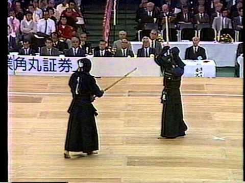 第35回(1987)全日本剣道選手権【準々決勝】東(愛知) Vs 濱崎(東京)