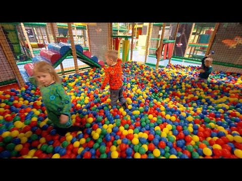 Busfabriken Playground Fun for Kids (really long edit)