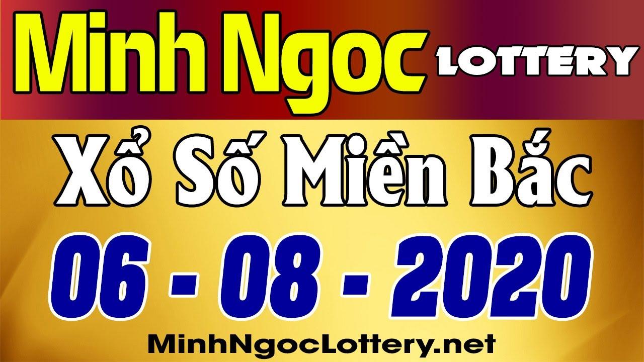 Minh Ngoc Lottery – Kết quả xsmb, xổ số miền Bắc thứ 5 06/08/2020
