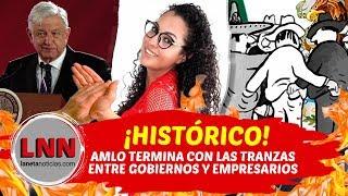 ¡HISTÓRICO! #AMLO TERMINA CON LAS TRANZAS ENTRE GOBIERNO Y EMPRESARIOS thumbnail