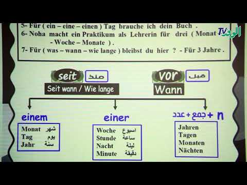 شرح| الوحدة الثالثة عشر| الجزء الأول| مادة اللغة الألمانية للصف الثالث الثانوي  - نشر قبل 3 ساعة