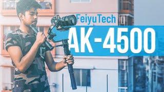 Feiyu Tech AK4500 Review   A Semi-Professional Camera Gimbal   ATC