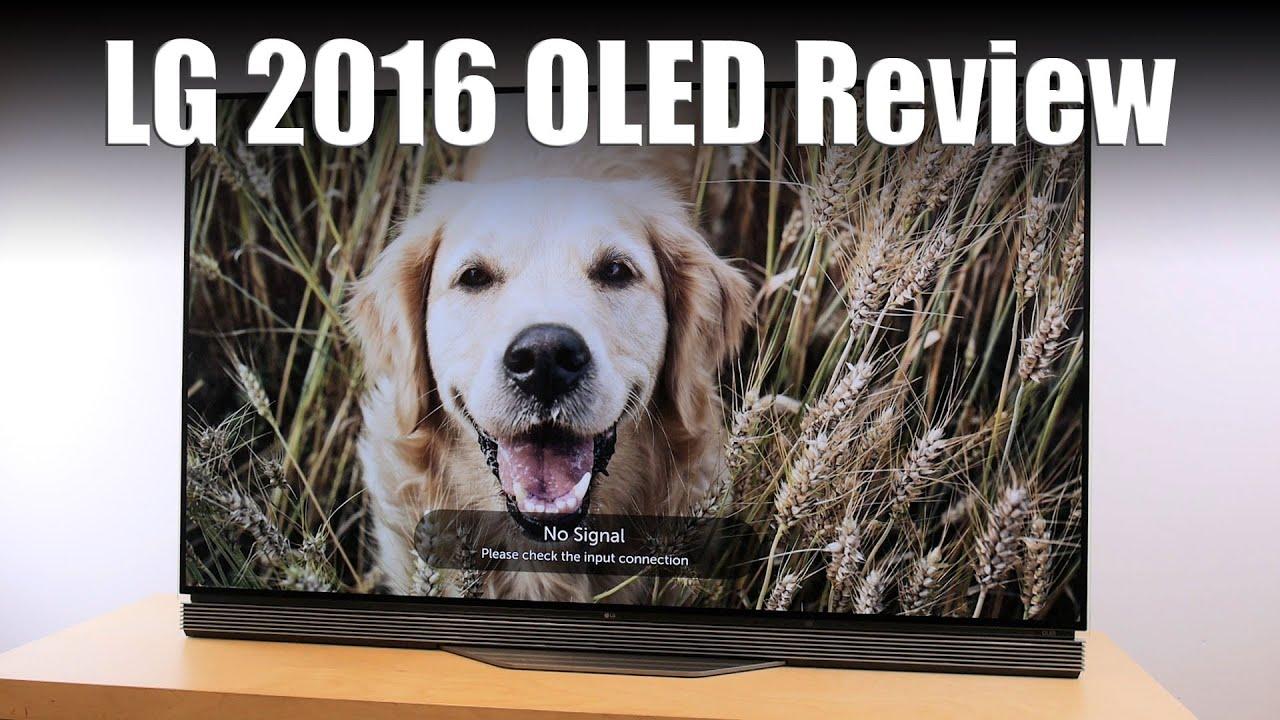LG OLED55E6 (E6) 4K HDR OLED TV Review