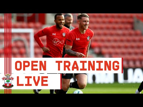LIVE: Southampton Football Club Open Training Session