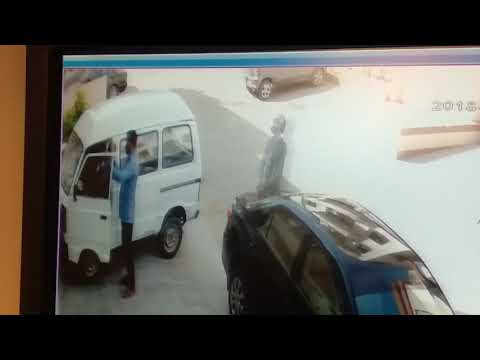Snatching at North nazimabad Karachi after a man withdraw money from bank