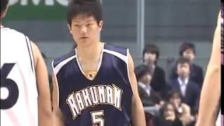 ウインターカップ2007 準決勝 県立能代工業 対 洛南 高校男子バスケットボール