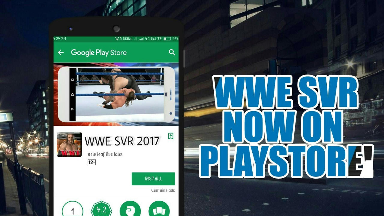 Latest WWE Smakdown Vs Raw Game Now On Google Play Store! Download Now!  [High Graphics]
