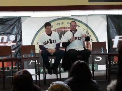 SF Giants Will Clark Funny Story at Fanfest