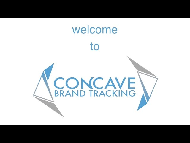 Welcome to Concave Brand Tracking