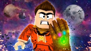 *UPDATE* Wielding the Infinity Gauntlet in Roblox! (Roblox Super Hero Tycoon)