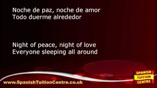 Learn Spanish Songs - Noche de Paz