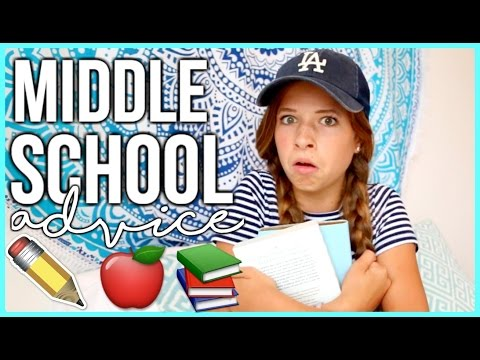 Middle School Advice 2016 & 2017! How to Survive Middle School!