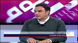 Adib Tohme on Beirut al Yawm on 22 Janaury 2020 MTV Extracts