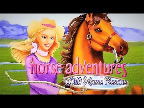 Barbie Horse Adventures: Wild Horse Rescue (2003) (PS2)