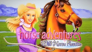 Barbie Horse Adventures: Wild Horse Rescue (2003) (PS2)