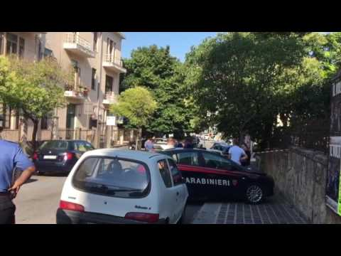 Omicidio via Milano, prime immagini