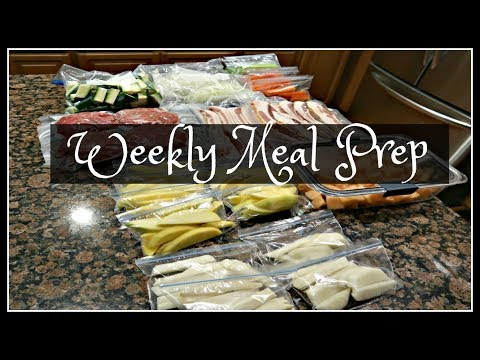 Weekly Meal Prep | Busy Working Mom