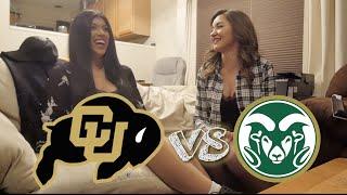 University of Colorado Boulder Students VS. Colorado State Students : Rivalry Week 2016