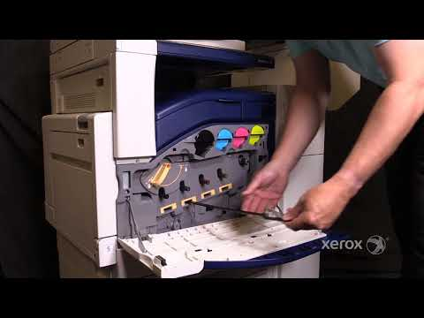 Xerox® WorkCentre® 7120/7220/7225 Cleaning the ROS Windows