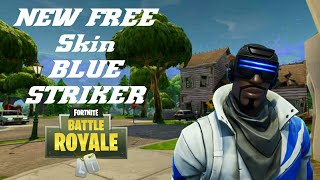 New Free PS Plus Skin | Blue Striker (Fortnite Battle Royale) Gehlump