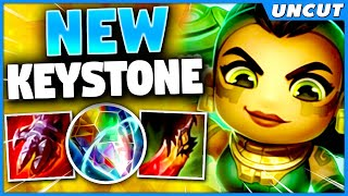 *NEW ILLAOI* ALL KEYSTONES IN ONE RUNE (1V9 STRATEGY) - League of Legends