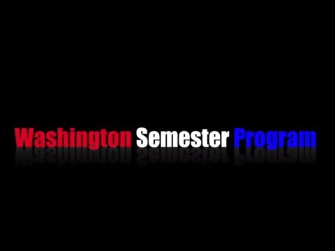 Washington Semester Program