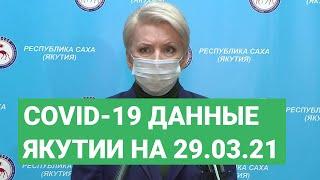 Сovid-19. Данные в Якутии на 29.03.21