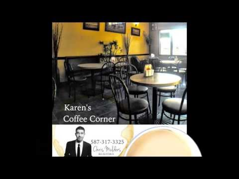Airdrie, AB. Business For Sale - Karen's Coffee Corner