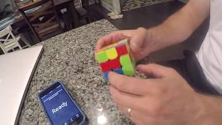Rubik's cube solution in 39s.