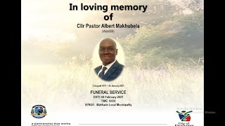 Funeral of Cllr Makhubela