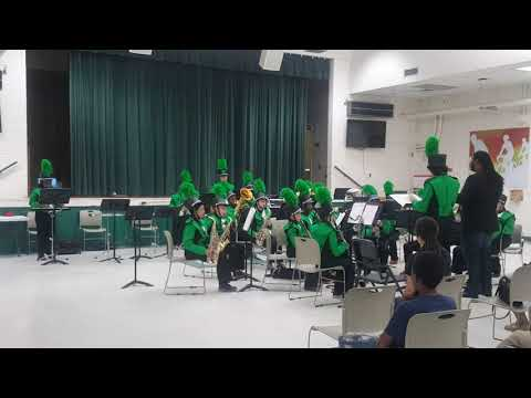 Warrington Middle School Band Camp #3