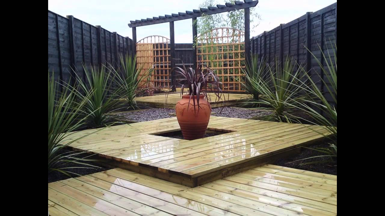 Exotic Garden Decking Designs Ideas YouTube