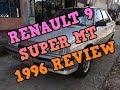 RENAULT 9 SUPER MT 1996 ORIGINAL REVIEW 2 AÑOS GUARDADO IMPERDIBLE.