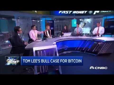 Bitcoin Heading To 25K in 5 years, CNBC Fast Money   Tom Lee