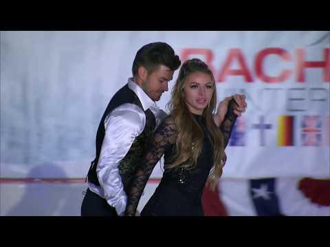Luke and Stassi Dancing on Ice- The Bachelor Winter Games