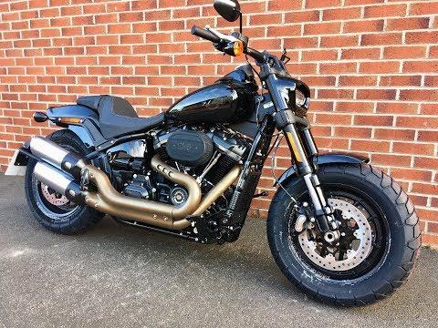 2018 Harley Davidson Softail Fatbob with 114 cu engine. For Sale. # 25278