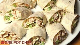 Chicken Salad Sandwich Scrolls - Recipe