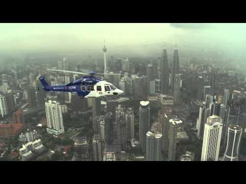 EC175 Asia Demo Tour - Flight over Kuala Lumpur, Malaysia